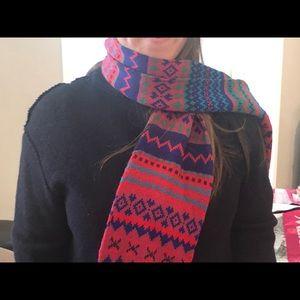 Accessories - Winter multicolored scarf